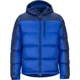 Marmot Guides Down Hoodie Men surf/arctic navy